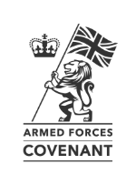Official authorised UK Armed Forces Covenant banner logo